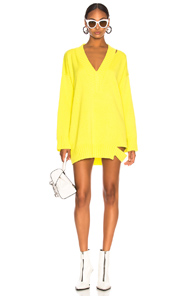 TRE KIRSTEN SWEATER IN YELLOW