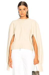 TRE EDITOR CREW SWEATSHIRT IN NEUTRALS