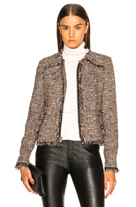 VERONICA BEARD SIDNEY JACKET IN BROWN