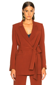 VERONICA BEARD DOVER BLAZER IN ORANGE