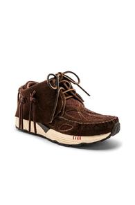 VISVIM Visvim Chukka Lace-Up Sneakers - Brown