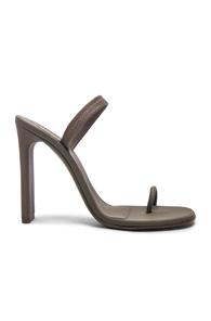 Taupe Sling Back Sandals