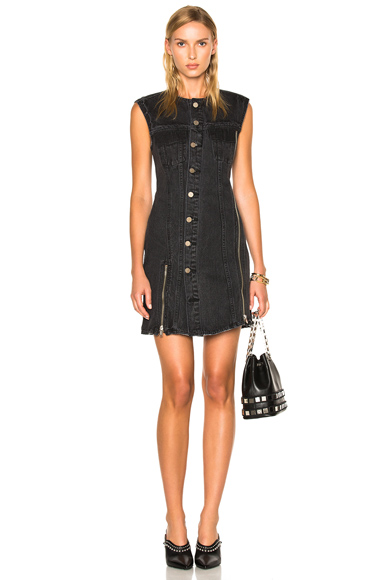 31 phillip lim Sleeveless Asymmetrical Dress in Black