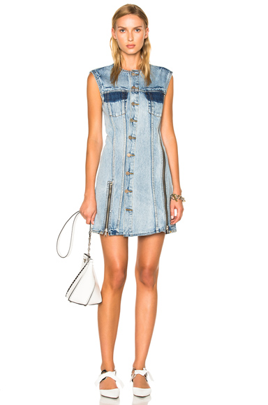 31 phillip lim Sleeveless Asymmetrical Dress in Blue