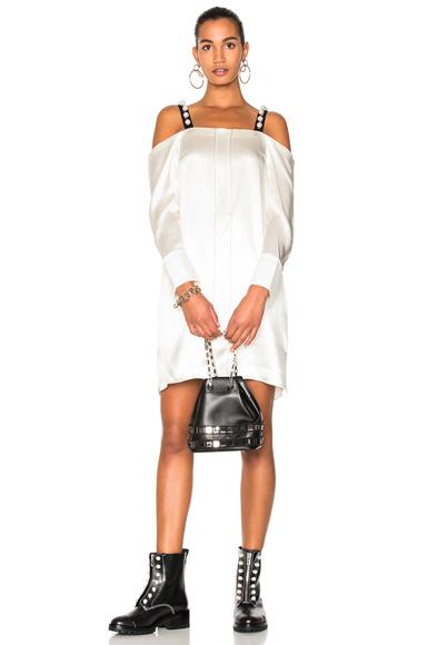 31 phillip lim Cold Shoulder Dress in Neutrals, White