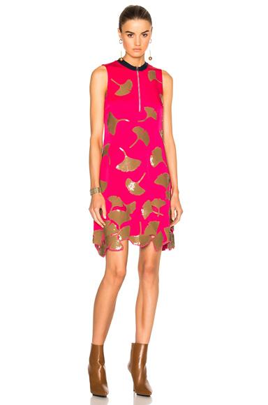 31 phillip lim Gingko Shift Dress in Pink, Metallics