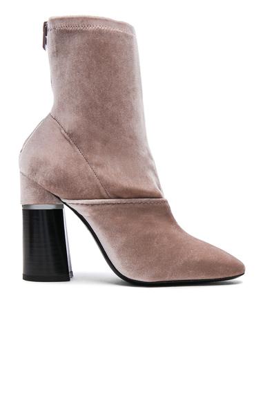 31 phillip lim Velvet Kyoto Boots in Neutrals, Pink