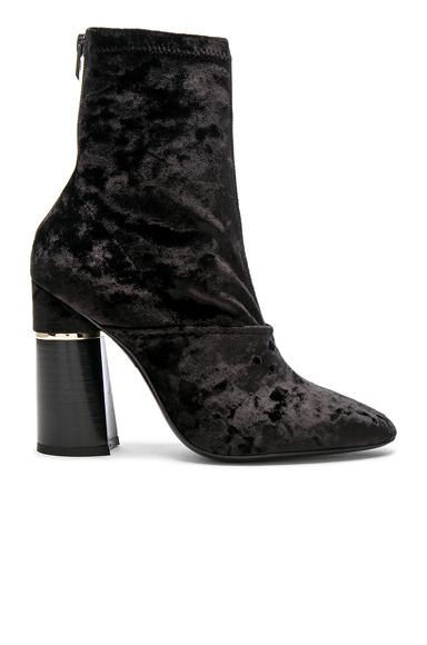 31 phillip lim Kyoto Velvet Boots in Black
