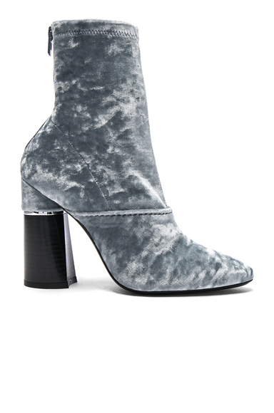 31 phillip lim Kyoto Velvet Boots in Blue