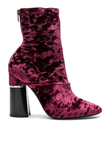 31 phillip lim Kyoto Velvet Boots in Purple