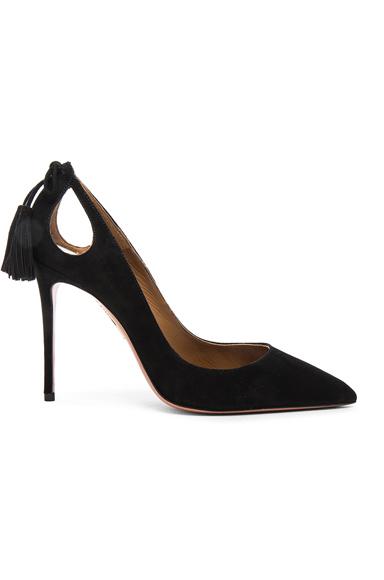 Aquazzura Forever Marilyn Heels in Black