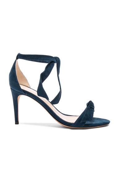 Alexandre Birman Suede Clarita Heels in Blue