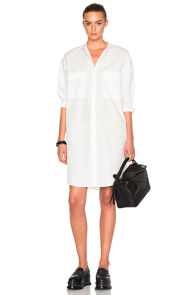 Acne Studios Esloane Dress in White