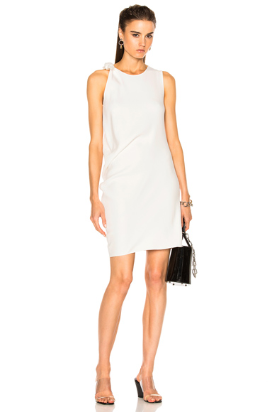 Acne Studios Sail Dress in White