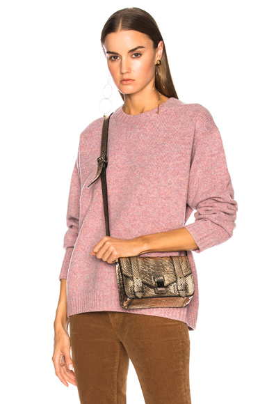 Oversized sweater dusty pink