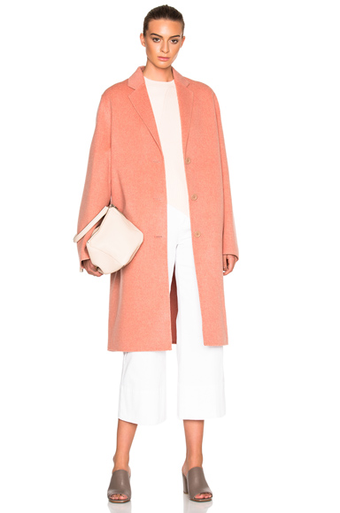 Acne Studios Avalon Double Coat in Pink,42)