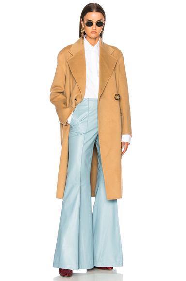 Acne Studios Carice Double Coat in Neutrals