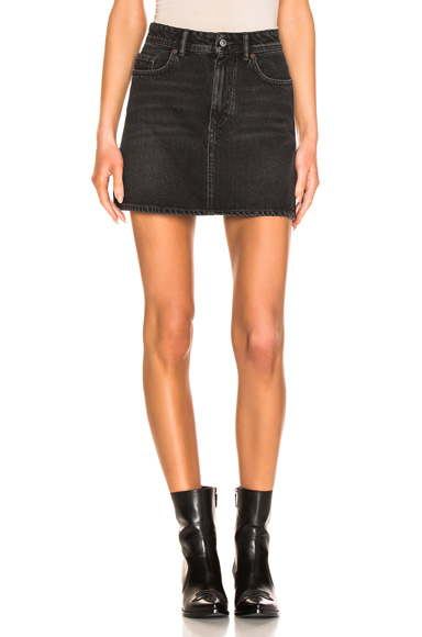 ACNE STUDIOS | Acne Studios Caitlyn Denim Skirt In Black. - Size 31 (Also In 27,29) | Goxip