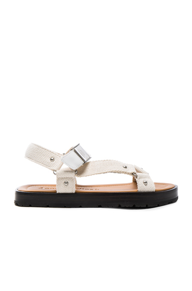 Acne Studios Ester Sandals in White