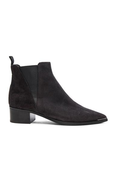 Acne Studios Suede Jensen Boots in Black