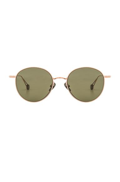 Ahlem Madeleine Sunglasses in Metallics.