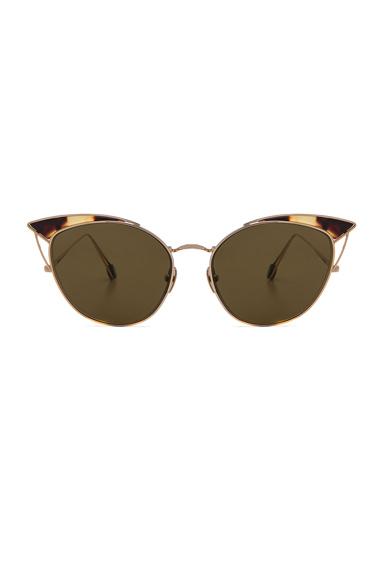 Ahlem Place Sunglasses in Metallics, Animal Print.