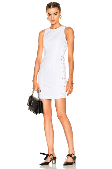 ALC Valera Dress in White