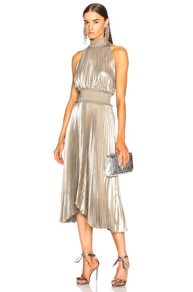 ALC Kravitz Dress in Metallics