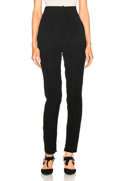 Alexandre Vauthier Japanese Crepe Trousers in Black. - size 42 (also in )