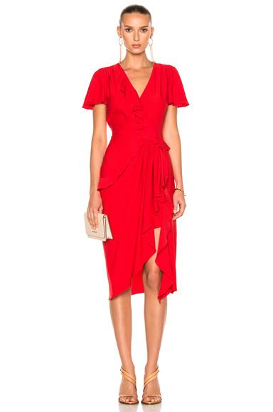 Altuzarra Mesilla Dress in Red