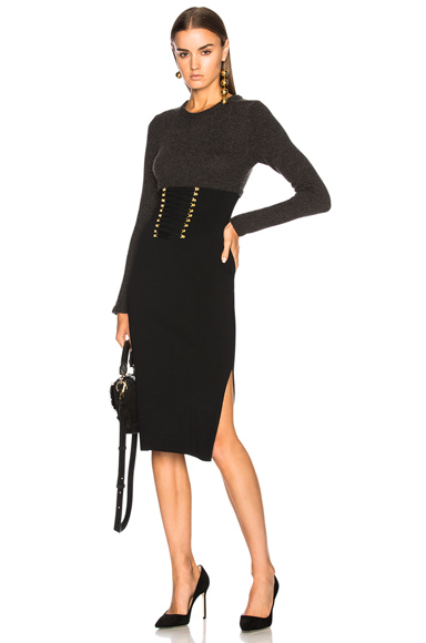 Altuzarra Ursula Knit Dress in Black