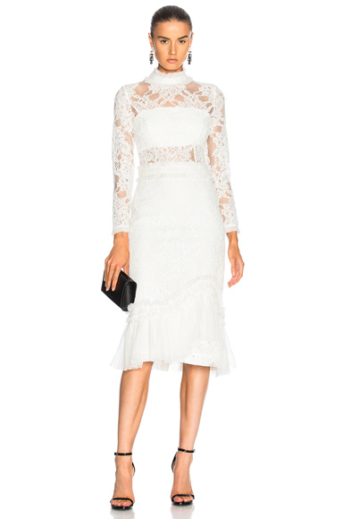 Alexis Anabella Dress in White