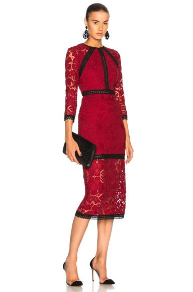 Alexis Randie Dress in Red