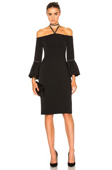 Alexis Amelie Dress in Black