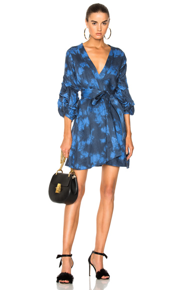 Alexis Malu Dress in Blue, Ombre & Tie Dye