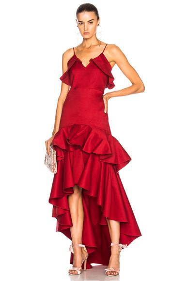 Alexis Zafina Dress in Red