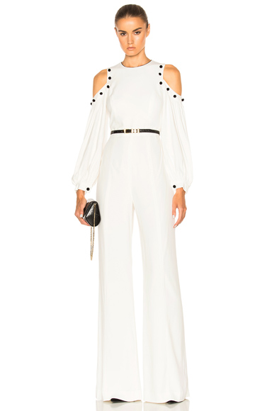 Alexis Easton Jumpsuit in White