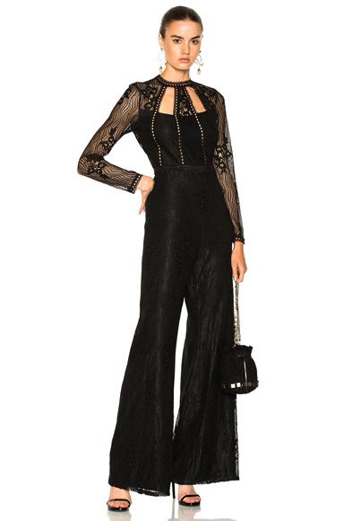 Photo of Alexis Arabella Jumpsuit in Black online womens jumpsuits sales