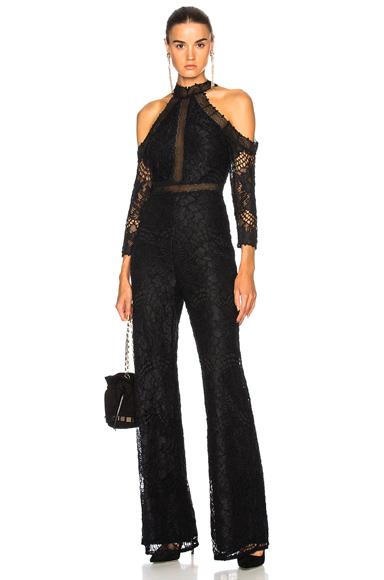 Alexis Ivoree Jumpsuit in Black