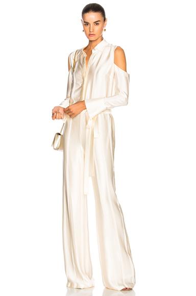 Alexis Eryn Jumpsuit in White