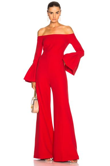 Alexis Astoria Jumpsuit in Red