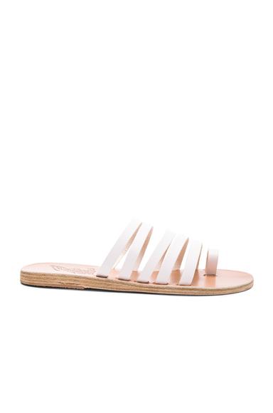 Ancient Greek Sandals Niki Sandals in White