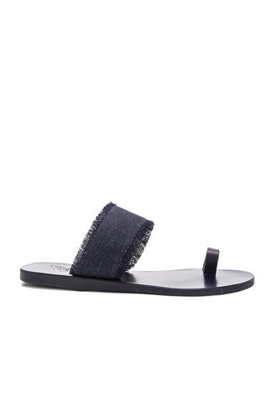 Ancient Greek Sandals Thraki Sandals in Blue