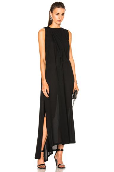 Ann Demeulemeester Asymmetric Dress in Black