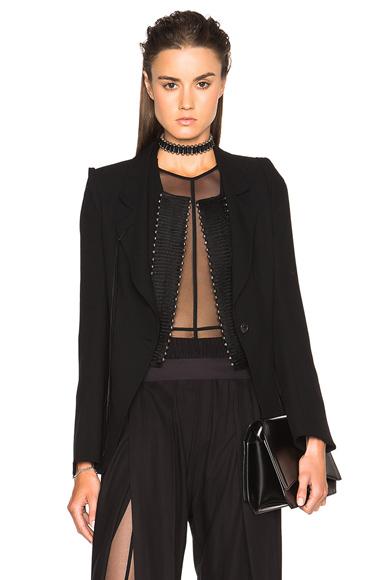 Ann Demeulemeester Classic Blazer in Black