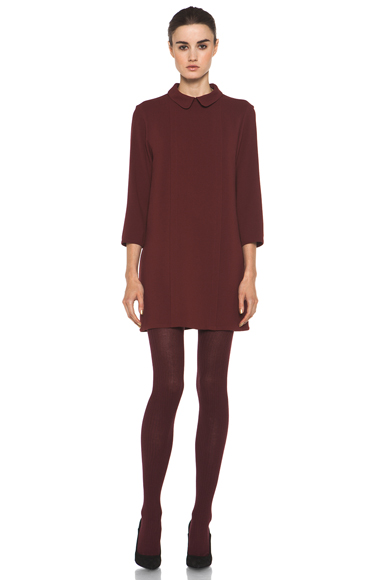 A.P.C. | Minimale Dress in Rouge Fonce