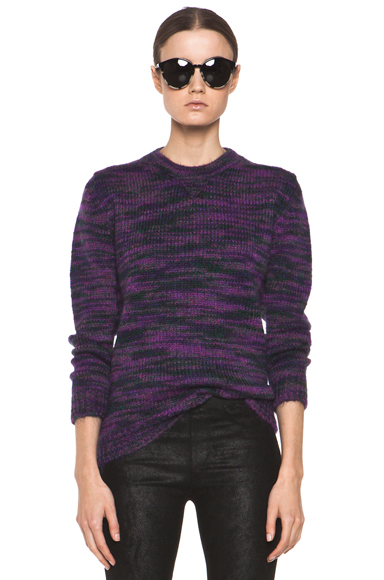 A.P.C. | Pull Over Sweater in Violet