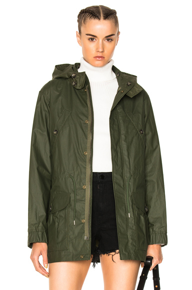 Photo of APC Zodiac Parka in Green online womens jacket sales