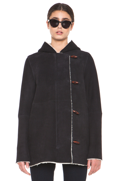 A.P.C. | Manteau Capuche Coat in Noir