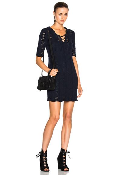 Athe by Vanessa Bruno Espiegle Dress in Blue. - size L (also in )